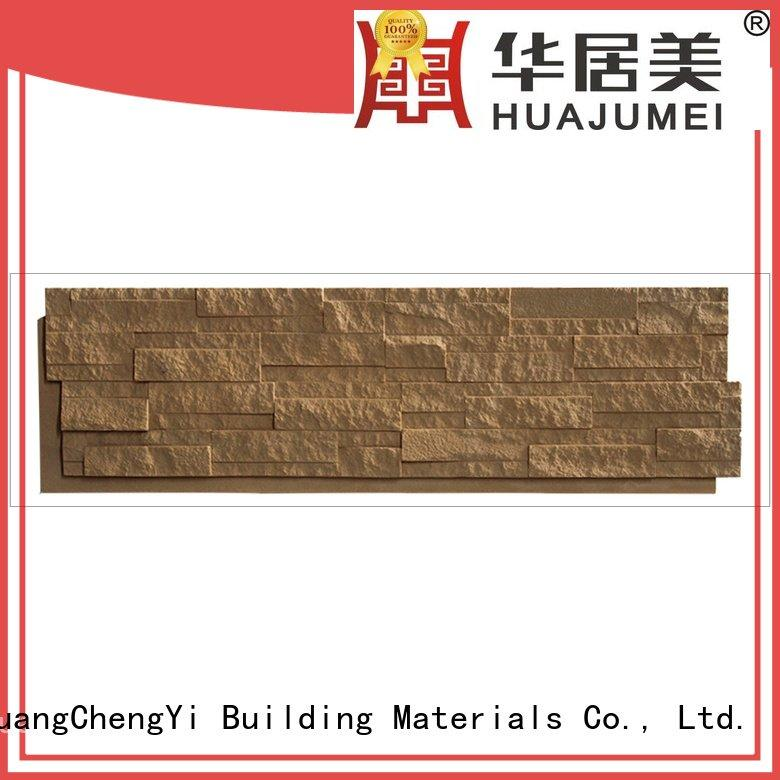 series material interior faux rock panels ChuangChengYi