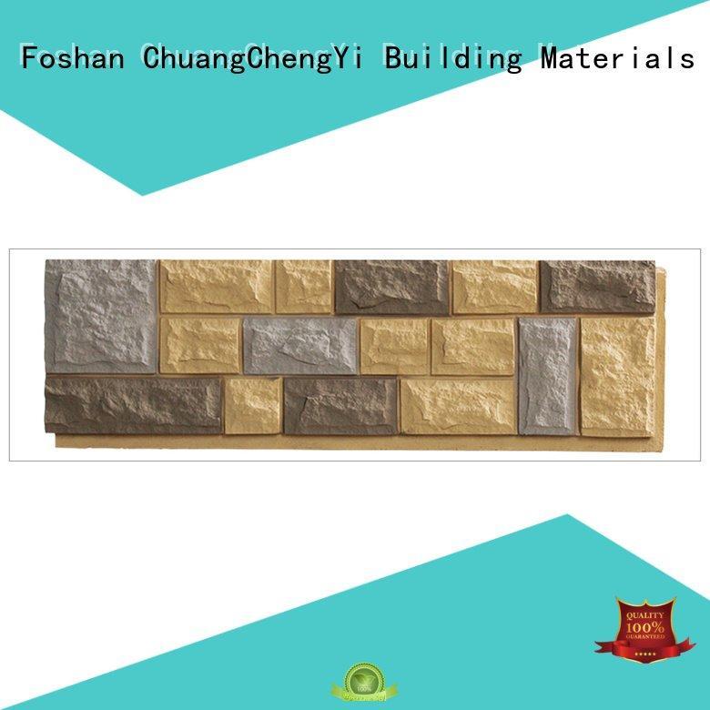 Hot faux brick panels for interior walls interior environmental ancient ChuangChengYi Brand