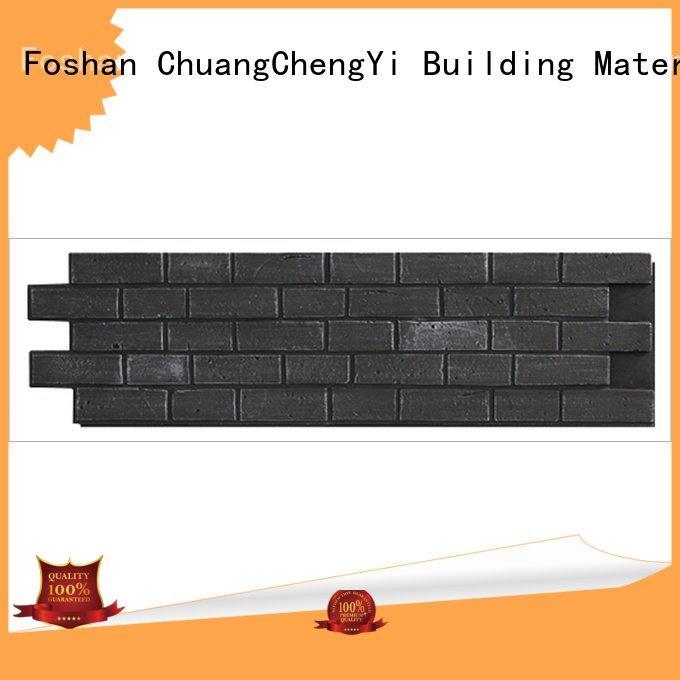 ChuangChengYi hjm fake brick wall panels exterior material