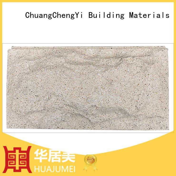 ChuangChengYi Mushroom slate hjm rocklet interior