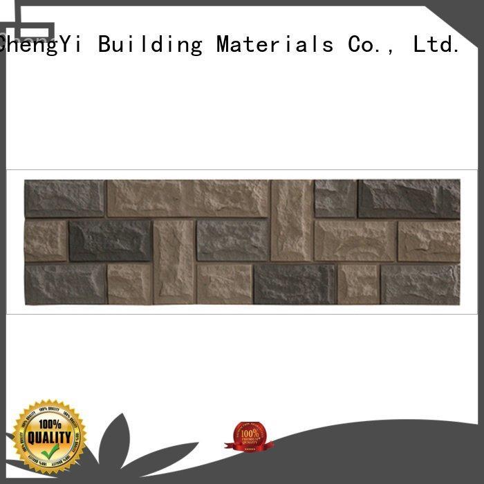 environmental wall pu ChuangChengYi faux brick panels for interior walls