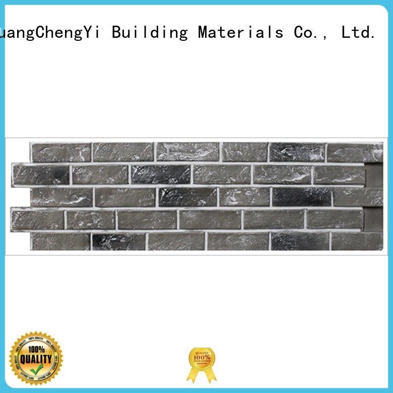 ChuangChengYi fake brick cladding hjm exterior clutured