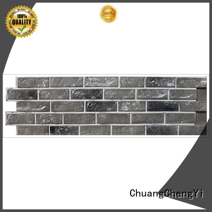 series clutured OEM fake brick wall panels ChuangChengYi