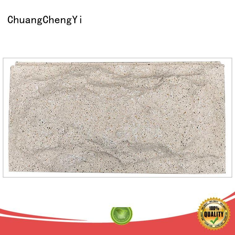 crystal exterior interior home depot faux stone ChuangChengYi
