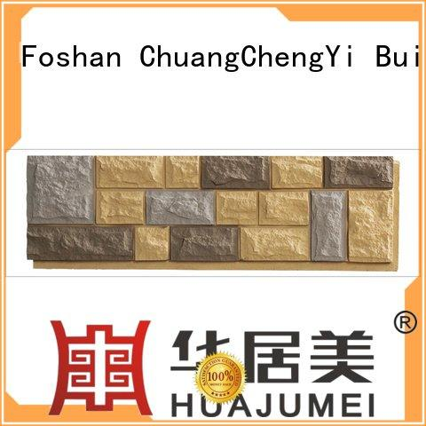 ChuangChengYi Brand pu material environmental faux brick panels