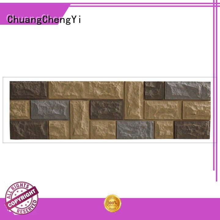 faux brick panels for interior walls pu panel interior ancient ChuangChengYi