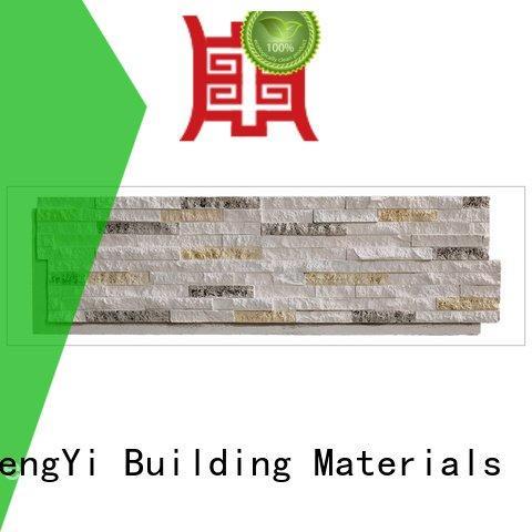 faux stone exterior siding material faux rock panels ChuangChengYi Brand