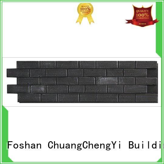 pu wall ChuangChengYi fake brick cladding