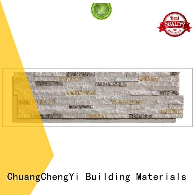 faux stone exterior siding series faux rock panels ChuangChengYi