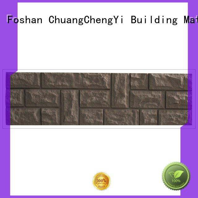 ChuangChengYi faux brick panels for interior walls series ancient hjm panel