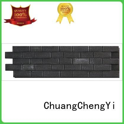 ChuangChengYi Brand pu environmental fake brick wall panels interior hjm