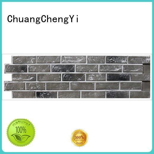 ChuangChengYi Brand hjm series wall fake brick wall panels exterior