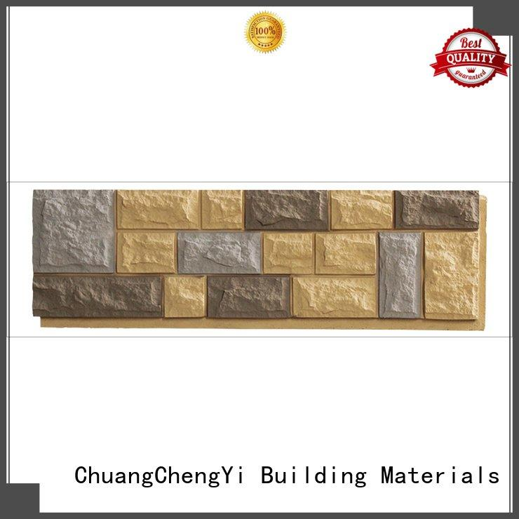 faux brick panels for interior walls exterior series ChuangChengYi Brand
