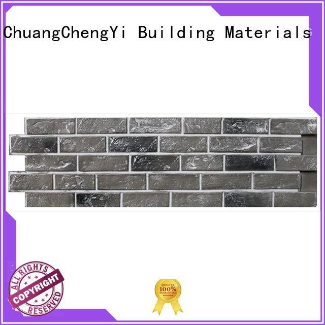 ChuangChengYi series wall hjm fake brick cladding pu