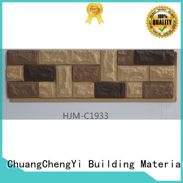 lightweight fake cobblestone easy for exhibition