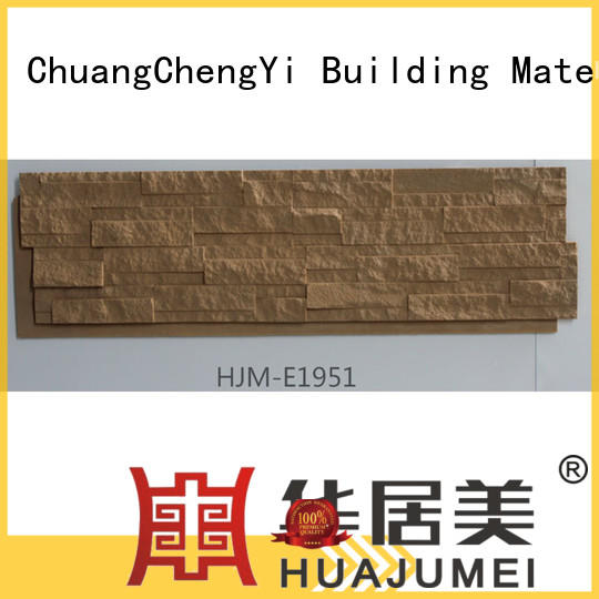 high quality faux rock facade hjme1950 Supply for sign