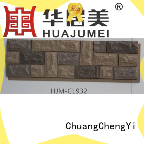 ChuangChengYi 1100mm315mm faux stone prices bulk production for sign