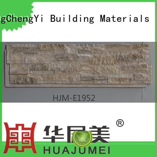 ChuangChengYi New faux rock wall tiles supplier for exhibition