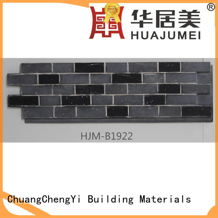 in different color faux stone panels for outside hjma1911 factory for accent walls