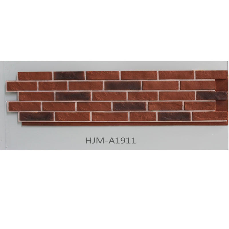Durable Brick Cultural Stone Faux Panel  HJM-A1911