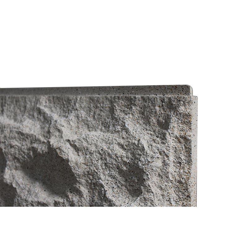 Tradeshows DIY Mushroom Slate Stone Faux Panels Easy to Install HJM-H1980