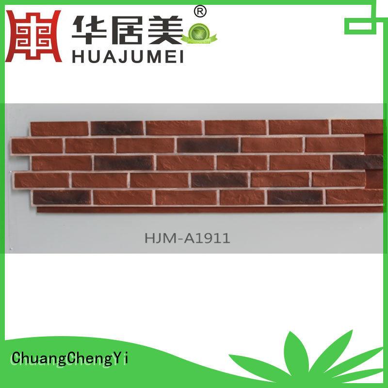 durable faux stone interior hjma1912 bulk production for entertainment