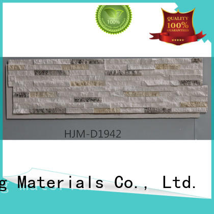 ChuangChengYi hjme1954 faux rock columns factory price for retailer