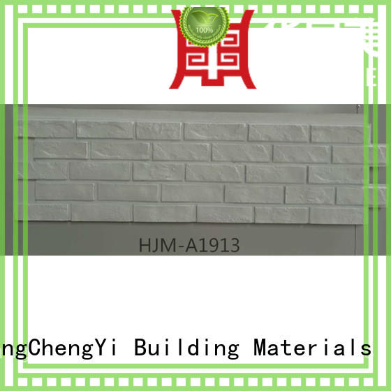 clutured exterior material fake brick wall panels ChuangChengYi