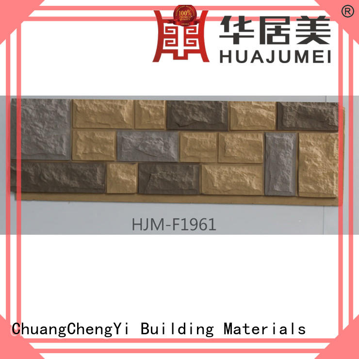 ChuangChengYi castle faux stone siding panels best price producer for houseowner