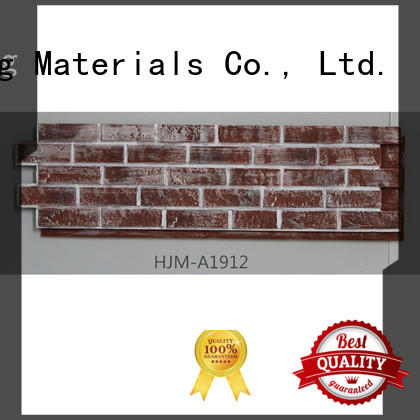 Custom environmental hjm fake brick wall panels ChuangChengYi exterior