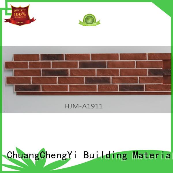 clutured fake brick cladding material pu ChuangChengYi Brand