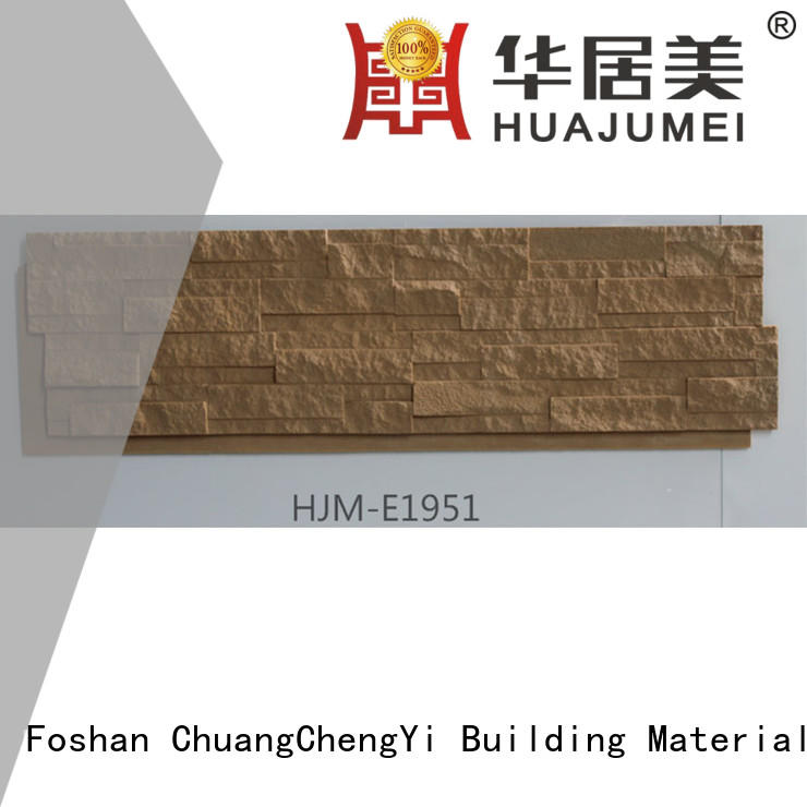 material exterior environmental faux stone exterior siding ChuangChengYi manufacture