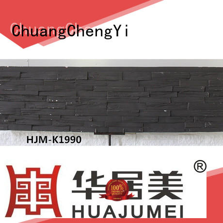 art faux granite wall panels slate for exhibition ChuangChengYi
