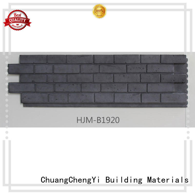 ChuangChengYi fireproof outdoor faux stone factory price for retailer
