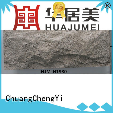 ChuangChengYi faux slate siding top selling for hotels
