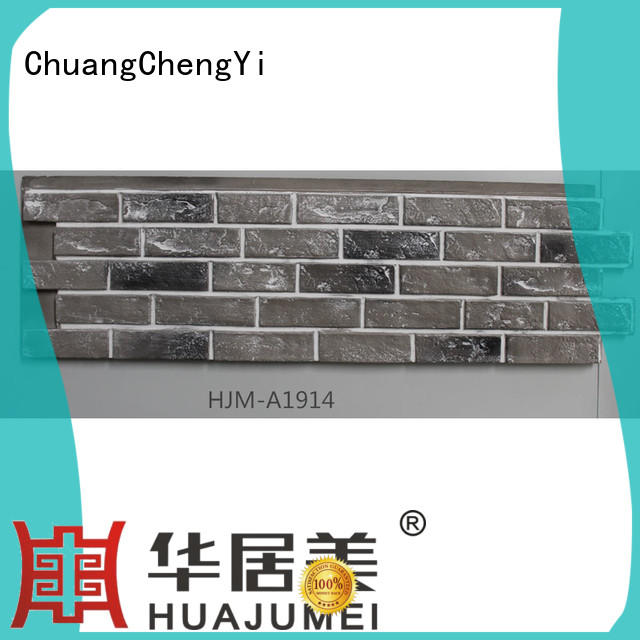 ChuangChengYi restaurant faux stone facade factory price for churches