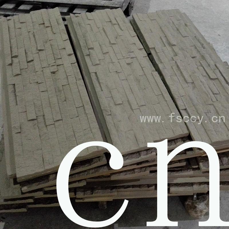 pu interior rocklet OEM faux rock panels ChuangChengYi