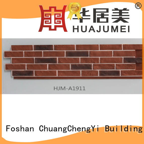 ChuangChengYi Brand environmental pu fake brick cladding