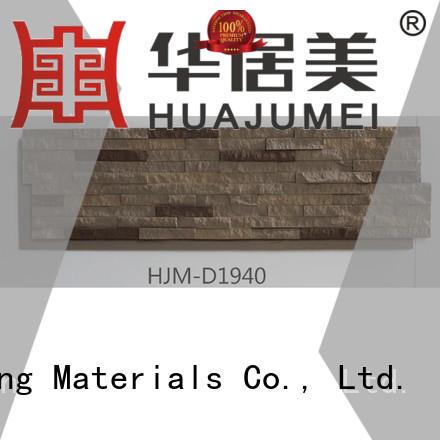 environmental faux stone exterior siding crystal interior ChuangChengYi Brand