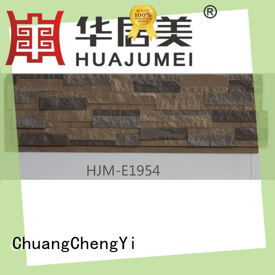 ChuangChengYi outstanding faux stacked stone veneer panels for amusepark