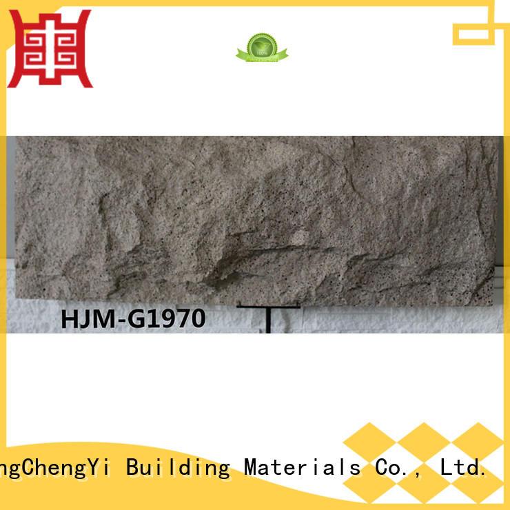 ChuangChengYi fireproof polyurethane rock panels mushroom for retailer