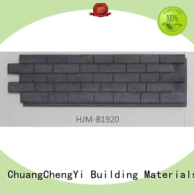 ChuangChengYi Custom where to buy faux stone for fireplace funk for churches