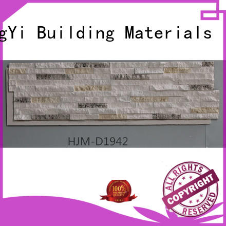 ChuangChengYi Brand rocklet environmental faux rock panels crystal factory