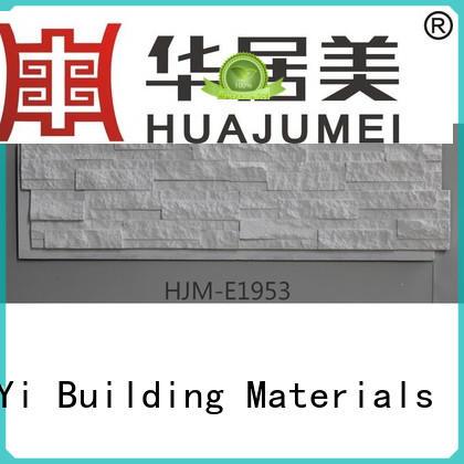 rocklet hjm ChuangChengYi Brand faux stone exterior siding factory