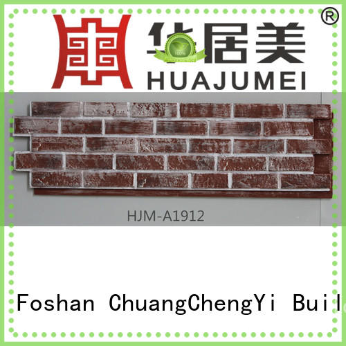ChuangChengYi artificial faux stone wall covering funk for houseowner