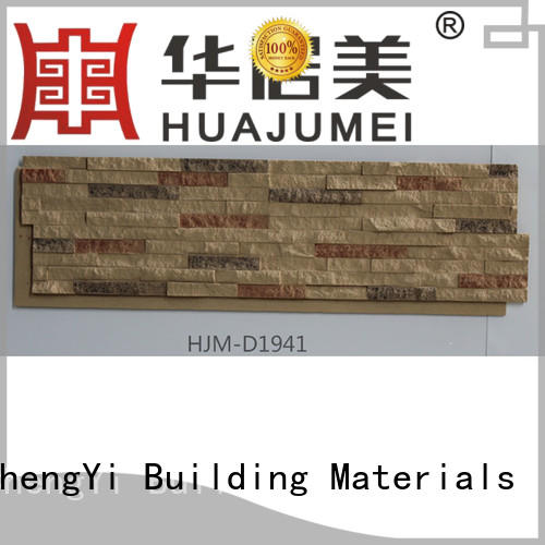 ChuangChengYi Brand crystal faux stone exterior siding material supplier