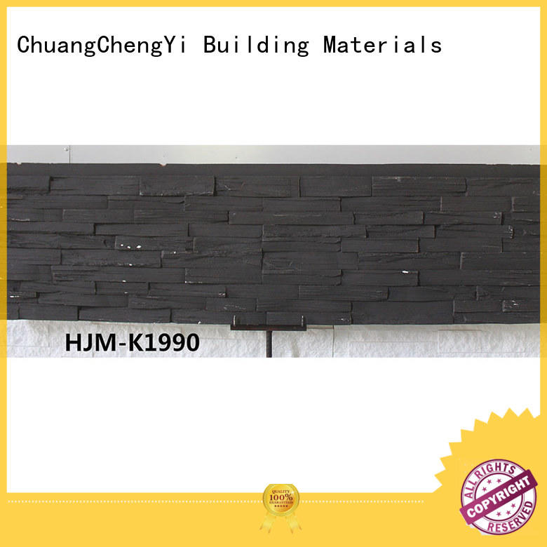 ChuangChengYi faux cultured stone panels at discount for churches