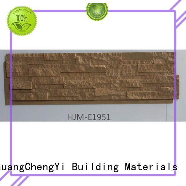ChuangChengYi Brand rocklet crystal faux rock panels manufacture