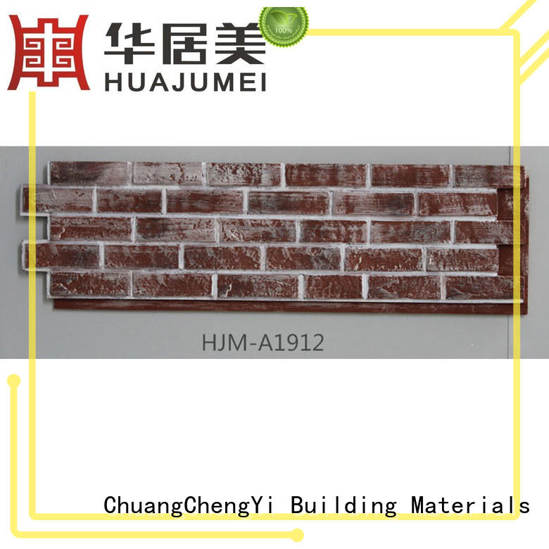 ChuangChengYi Wholesale brick veneer panels for hotels