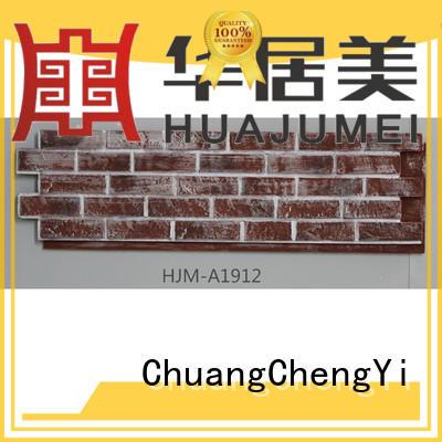 ChuangChengYi waterproof faux stone facing bulk production for exhibition